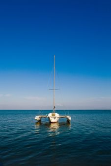 Free Boat On The See Stock Photography - 6048572