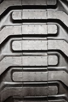 Free Tractor Tire Pattern Royalty Free Stock Photo - 6048995
