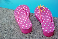 Free Flip Flops Royalty Free Stock Photo - 6049455