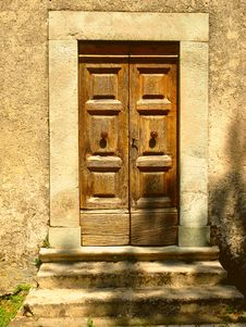 Free Ancient Door Stock Image - 6049681