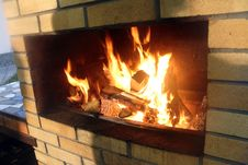 Free Fireplace Stock Photo - 60499430