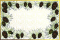 Free Golden Frame With Pine Cones Stock Images - 6052104