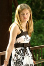 Free Teen In A Dress Royalty Free Stock Image - 6056326