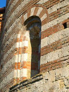 Detail Of Montesiepi Hermitage Royalty Free Stock Photos