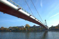 Free Suspension Bridge. Royalty Free Stock Image - 6051586