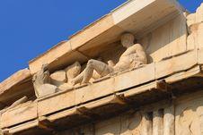 Free Parthenon Temple On The Acropolis Stock Image - 6051961