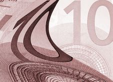 Euro Bank Note Stock Images