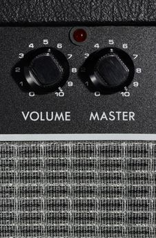 Free Amplifier Potis Volume And Master Stock Photos - 6052663