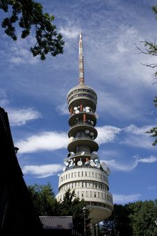 Free Radio Tower Sljeme III Stock Photo - 6053160