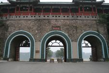 Free Xuanwu   Gate  Of  Nanking Stock Image - 6053161