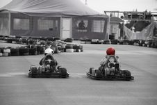 Free Go-cart Racings Royalty Free Stock Photos - 6053518