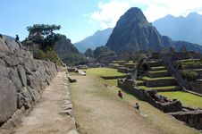 Ruins Of Machu-picchu 15 Royalty Free Stock Image