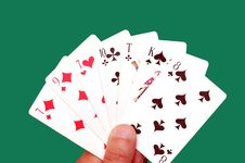 Free Playing Cards Stock Photography - 6057052