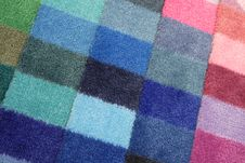 Free Color Spectrum Of Carpet Samples Royalty Free Stock Photos - 6058248