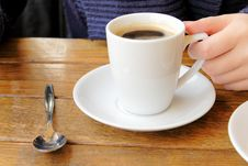 Free Cup Of Coffee Stock Photography - 6058362