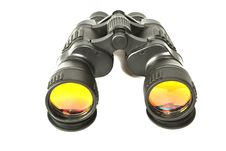 Free Binoculars On White Royalty Free Stock Images - 6058809