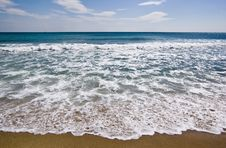 Free Black Sea Beach Royalty Free Stock Photos - 6058828