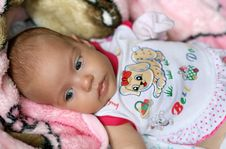Free Newborn Girl Royalty Free Stock Images - 6059679