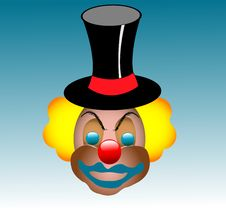 Free Clown Face Stock Image - 6059901