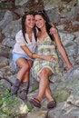 Free Sitting On The Rocks Royalty Free Stock Photo - 6060405
