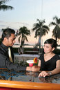 Free Couple At Bar Stock Photography - 6060712