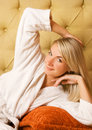 Free Woman Relaxing In The Morning Stock Photo - 6068630