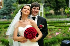 Free Bride And Groom Royalty Free Stock Photography - 6060227