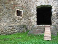 Free Doorway And Prison Window Stock Image - 6060241