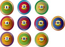 Free Numberballs Royalty Free Stock Images - 6060969