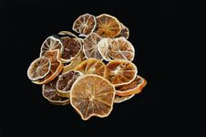 Dried Slices Of Oranges Royalty Free Stock Photos