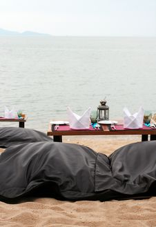Romantic Table Setting Royalty Free Stock Image