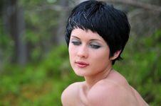 Free Portrait Young Beautiful Woman Royalty Free Stock Photo - 6061635