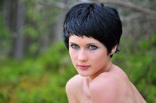 Free Portrait Young Beautiful Woman Stock Photo - 6061640