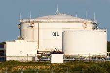 Free Tanks On Oil Loading Rack Stock Images - 6062714