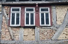 Free Worn Down Old European Home Stock Image - 6063281
