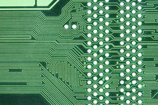 Free Green Circuitboard Stock Images - 6063374