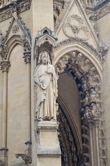 Free Cathedral St Etienne Details Royalty Free Stock Image - 6063986