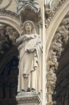 Free Cathedral St Etienne Details Royalty Free Stock Photo - 6064005