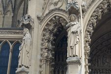 Free Cathedral St Etienne Details Royalty Free Stock Photos - 6064008