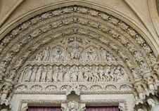 Free Cathedral St Etienne Details Royalty Free Stock Photos - 6064018