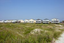 Free Beach Houses Stock Images - 6064694
