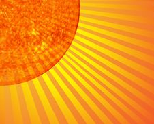Free The Sun Royalty Free Stock Photo - 6064885