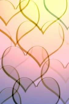 Free Pattern With Hearts Stock Photo - 6064960