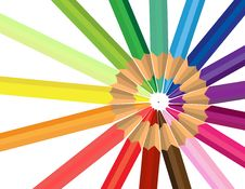 Free Colored Pencil Royalty Free Stock Images - 6065349
