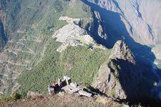 Ruins Of Machu-picchu 1.1 Royalty Free Stock Image