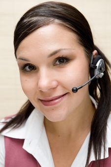 Free Call Center Stock Photography - 6066442