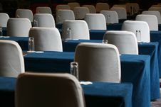 Free Conference Room Table And Chairs Stock Photography - 6066552