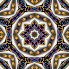 Free French Cloisonne Inspired Mandala Royalty Free Stock Photos - 6067478