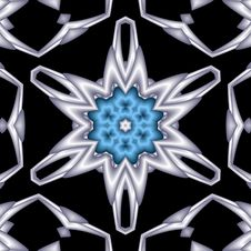 Free Quilted Floral Snowflake Star Royalty Free Stock Images - 6067509