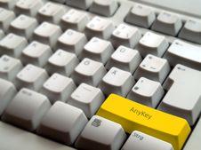 Free AnyKey Royalty Free Stock Photo - 6067895